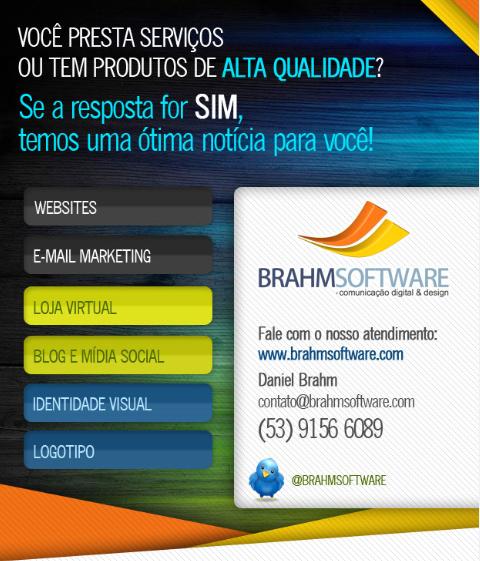 Criação de sites em Pelotas com a BrahmSoftware.com